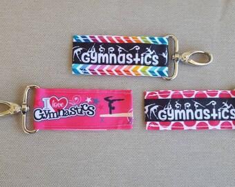 I flip for gymnastics lip balm holders