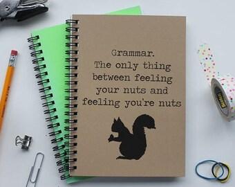 Grammar - 5 x 7 journal