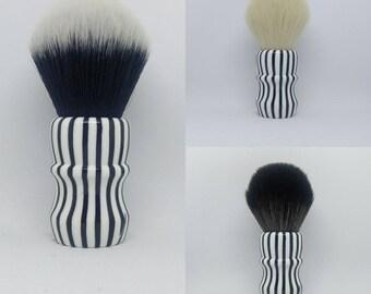 Zebra - 24mm Tuxedo, Cashmere, BOSS, or 24/26mm handle only shaving brush (27mm socket)