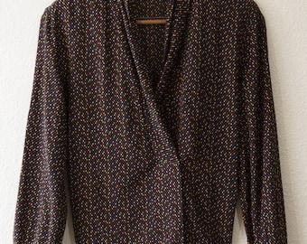 80's Liz Claiborne silk blouse