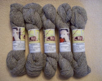 Alpaca Yarn – Praise and Maybelline (2 ply worsted weight)