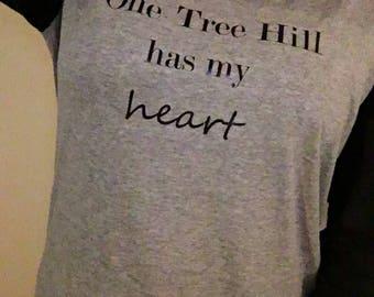 One Tree Hill has my heart baseball tee!