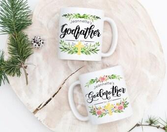 Godparent Gift - Godmother Mug - Fairy Godmother - Gift for Godparents - Gift for Godfather - Godfather Mug - Custom Godparent Gift