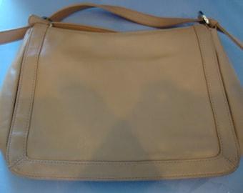 Butterscotch Leather Handbag