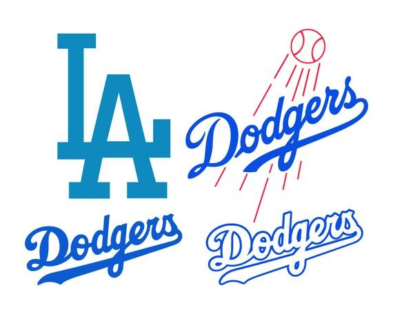 Los Angeles Dodgers Cut Files Los Angeles Dodgers Svg Files