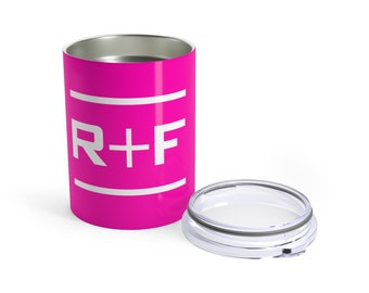 RF Pink Wine And Drink Tumbler 10Oz