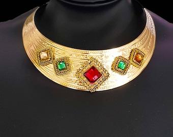 Choker of Byzantine style necklace
