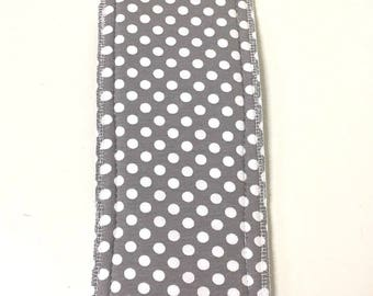 Natural Girl re-usable modern cloth sanitary menstrual pads. x1 LIGHT or panty liner pad.