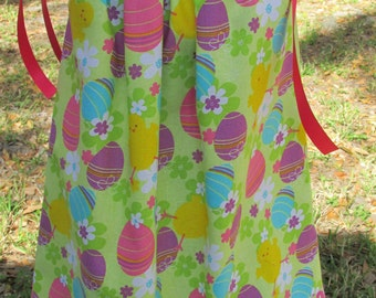 Easter Dress, Easter Egg Dress, Size 24 months Dress, Size 2T-3T Dress, Ready to Ship