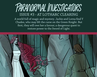 Paranormal Investigators Issue 3