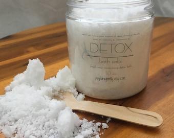Detox Bath Salts 10oz