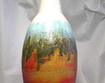 A Mid Century Fantoni Vase Z68