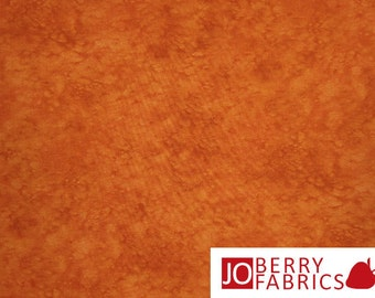 Orange Tonal Fabric, Splash by Blank Quilting, Quilt or Craft Fabric, Fabric by the Yard