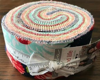 The Good Life by Bonnie and Camille for Moda - Jelly Roll - Precuts - 2.5 inch strips