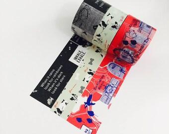 Ensemble de 3 morceaux!!! Japonais Washi Tape / Masking tape City4 /masté