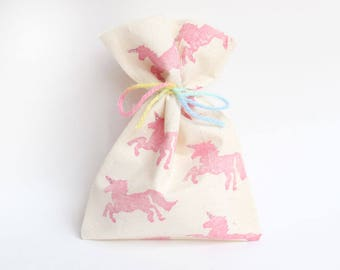 UNICORN Favour Bags - Unicorn, galloping unicorn, unicorn party, unicorn theme, unicorn favours x 10