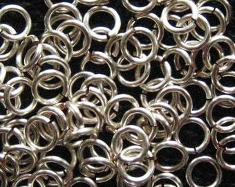 Jump Rings 500 -- 18 ga 3.5 mm Non Tarnish Silver