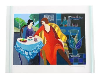 Serigraph by Itzchak Tarkay signed 9of18 Printer Proof Limited edition