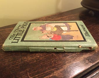 The Three Little Pigs - vintage hardcover