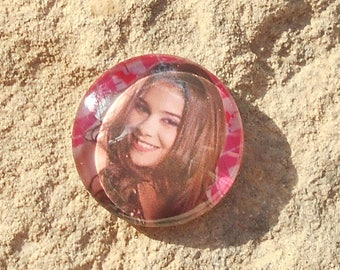 Glass cabochon 18 mm chica vampiro collection
