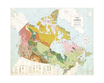Soil Map Of Canada