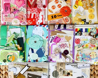 Bits and Pieces Scrap Pack / Inspiration Kit- Your Choice of Color