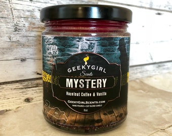 Mystery | All Things Mystery Inspired Candle | Hazelnut Coffee & Vanilla