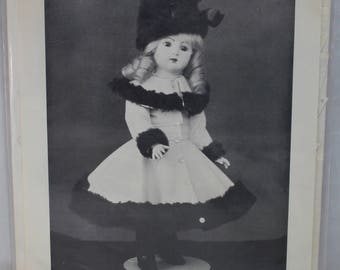 """Shirley Augustine Doll Clothing Pattern Maria (Long Face Jumeau) 16"""""""
