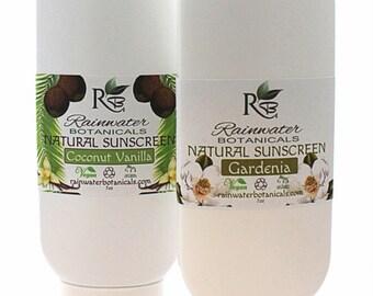 Natural Zinc Barrier Sunscreen