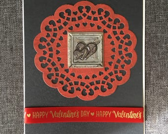 Love cards ,Happy Valentine's Day, Hearts , 100%handmade