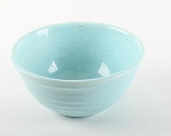 Bauer Speckled Blue Bowl