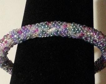 Lavender Multi Bangle Bracelet