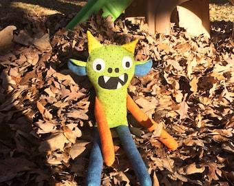 Handmade Monster Doll
