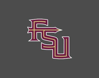 Florida State University - FSU Letters - Decals/Stickers