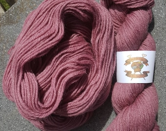 100% Highland Wool Worsted Weight Naturalberry