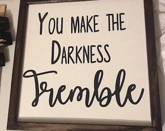 Tremble Wood Sign