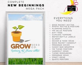 New Beginnings - Grow: Nurturing the Divine Within