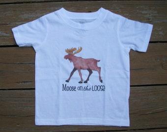 Cute Kids Clothes, Cute Toddler clothes, Unique Kids Clothes, Fall Toddler Clothes, Moose kids clothes, Autumn, Gift