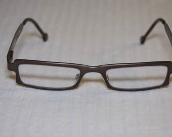 Vintage LA Eyeworks Rx Brown Tortoise Glasses