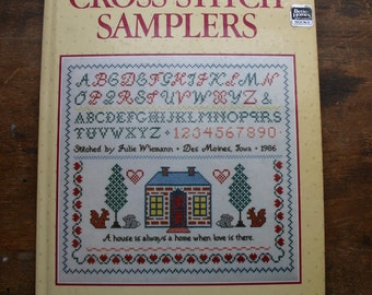 Better Homes and Gardens Cross-stitch Sampler Hard Cover Book