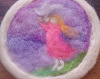 Felted Waldorf Wall Art
