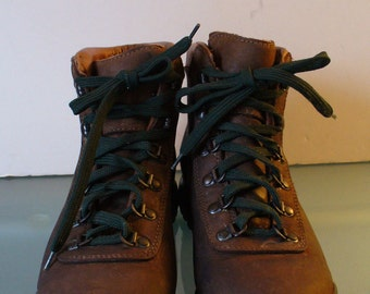 Vintage EMS Made in Italy Nubuck Hiking Boots
