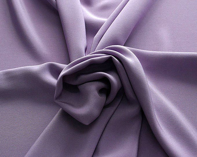 305206-Crepe marocaine Natural Silk 100%, width 130/140 cm, made in Italy, dry cleaning, weight 215 gr