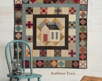 A Prairie Journey, quilting book by Kathleen Tracy, signed by author