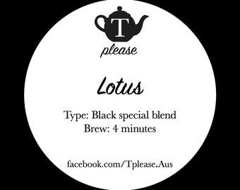 Lotus loose leaf tea