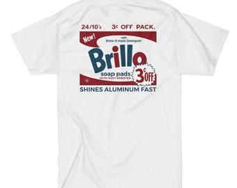 Andy Warhol 'Brillo Box' (White) T-Shirt