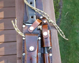 Custom Fit Tactical / Hunting Knife Sheath