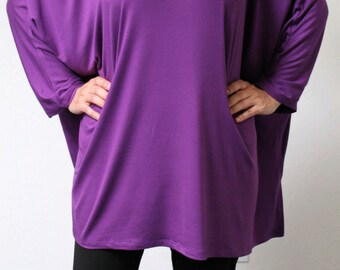 New Ultimate Cold shoulder Summer Magic Poncho tunic in Lagenlook, Comfortable and Trendy