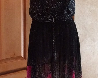 Vintage Dress with Matching Jacket