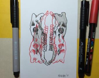 Inktober 2015 Day #29 - (Original drawing)